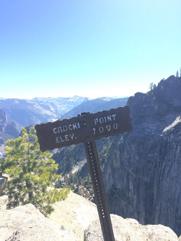 Up at Crocker Point
