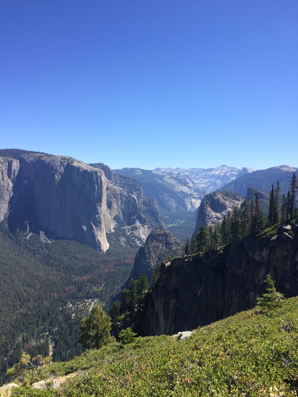 The view from Stanford Point. Pretty similar to the Tunnel View, just a few hundred people less