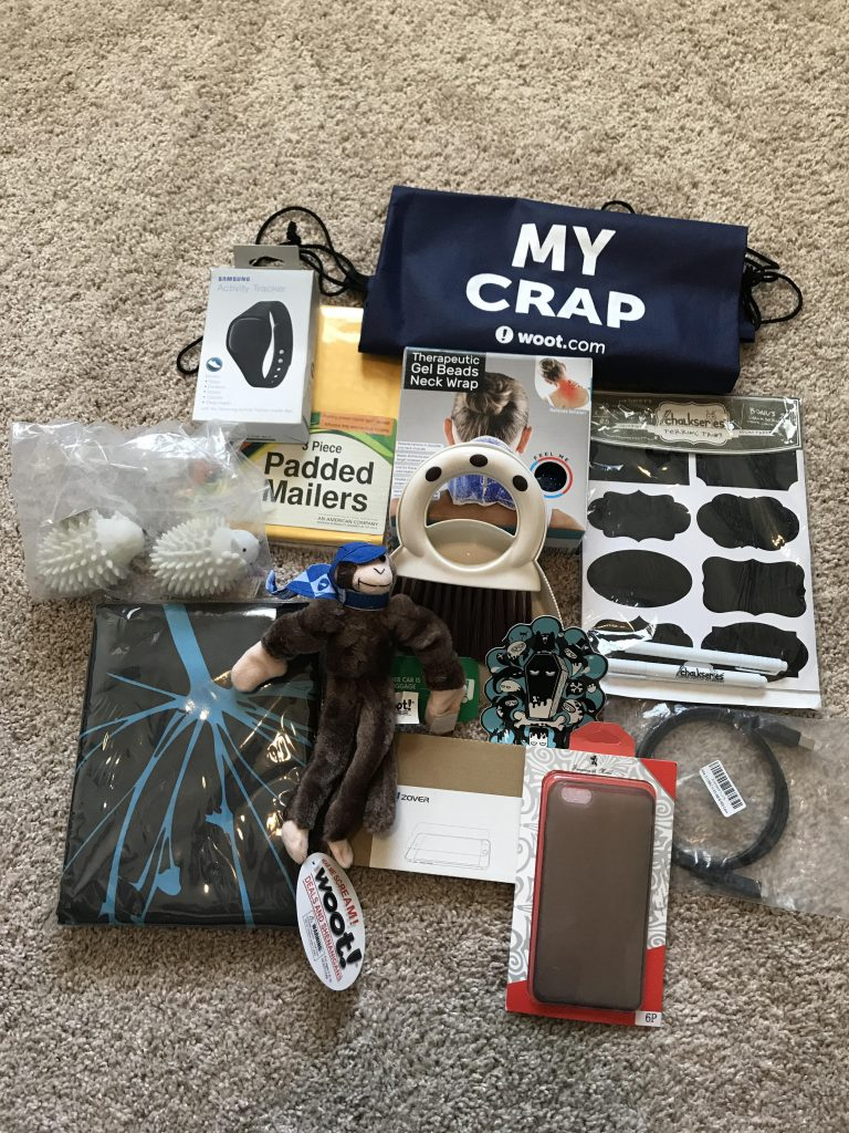Look at all that crap!